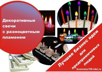 свечи и бизнес