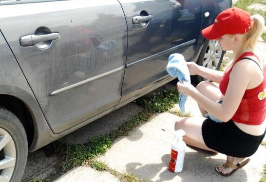 Разводы после мытья машины
