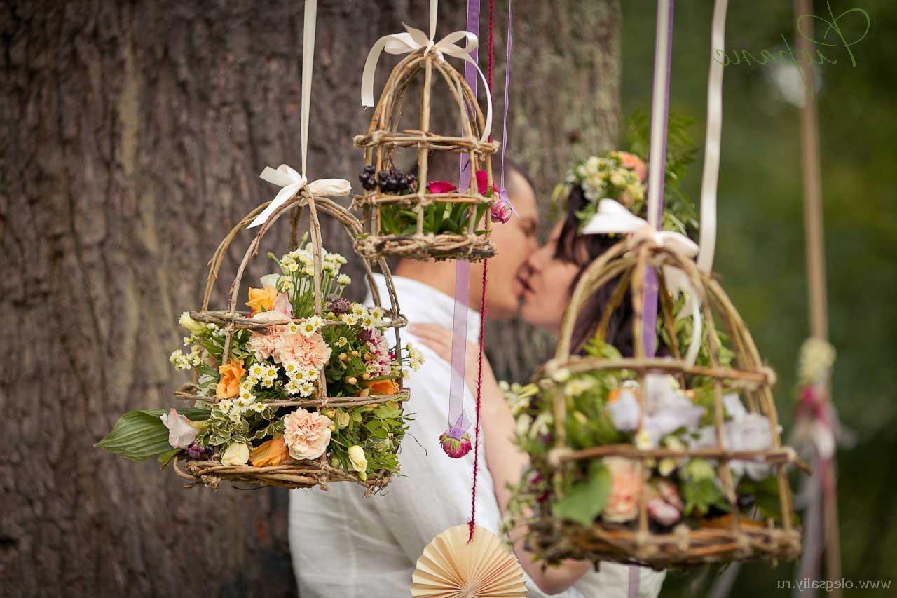 фотозона свадьбы летом в Иваново